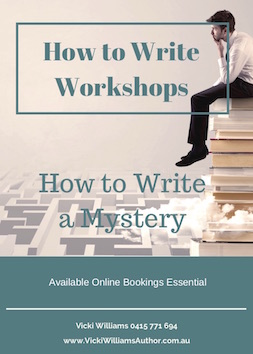 How to write a mystery books